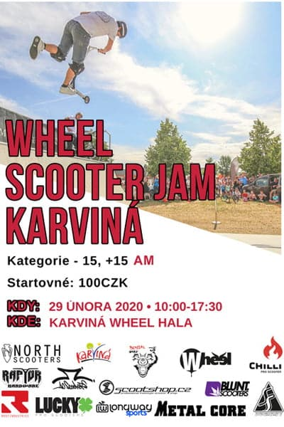 Wheel Scooter Jam
